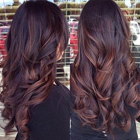 Hair Brown Balayage Dark