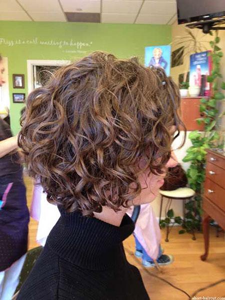 Curly Bob Hair Short