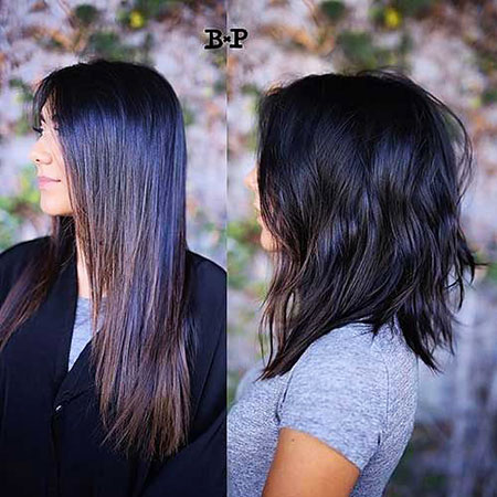 Hair Medium Balayage Wavy