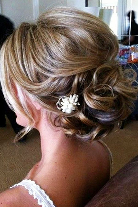 Updo Wedding Hairtyles Penteado