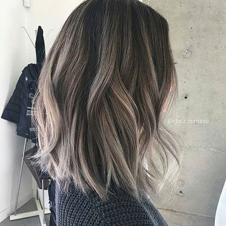 Balayage Hair Long Color