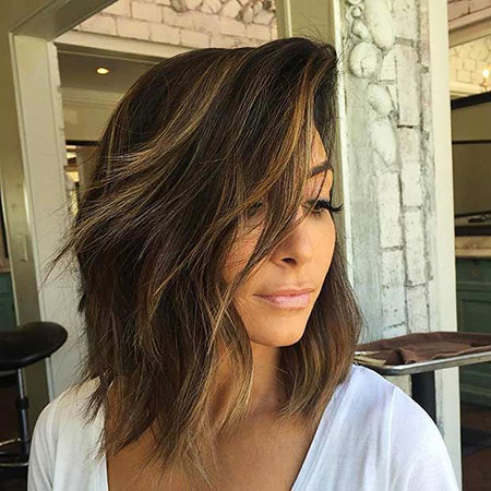 Layered Balayage Hair Length