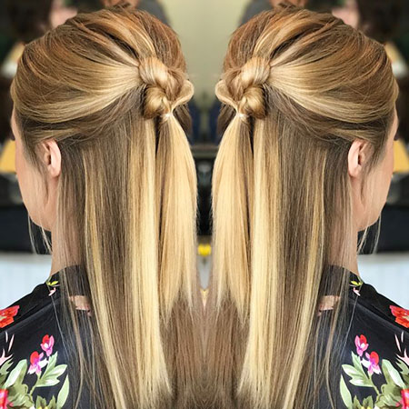 Hair Simple Straight Styles