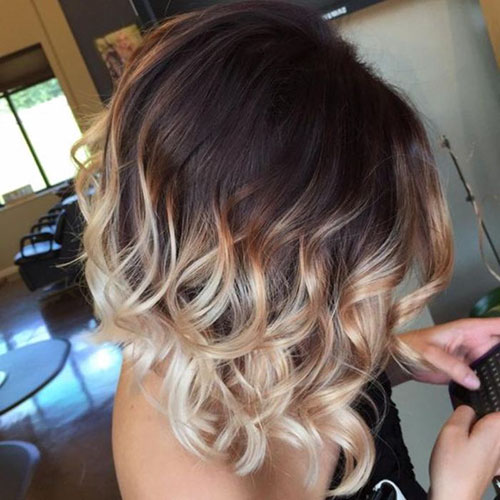 45 Beautiful Brown To Blonde Ombre Short Hair Hair Color