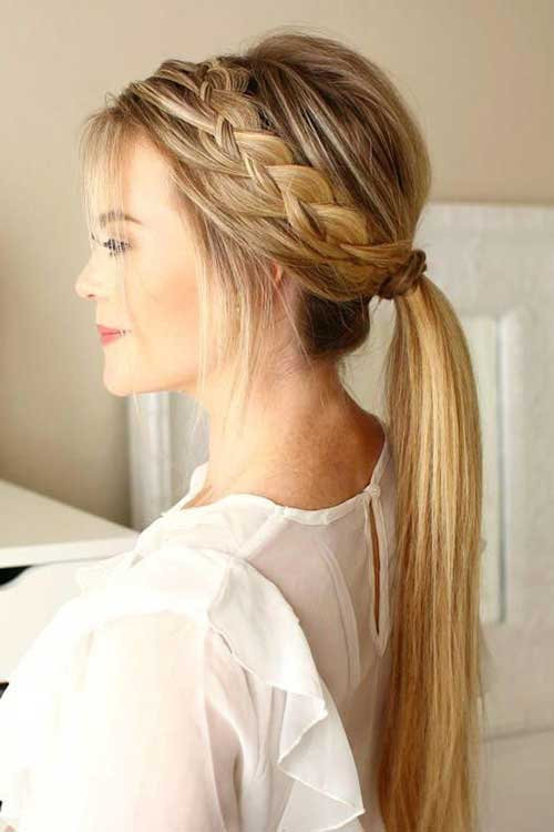 Easy Ponytail Hairstyles-10