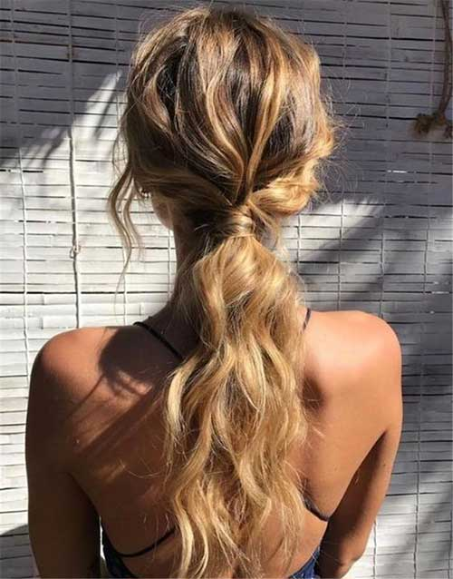 Easy Ponytail Hairstyles-11