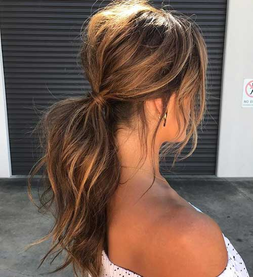 Easy Ponytail Hairstyles-13