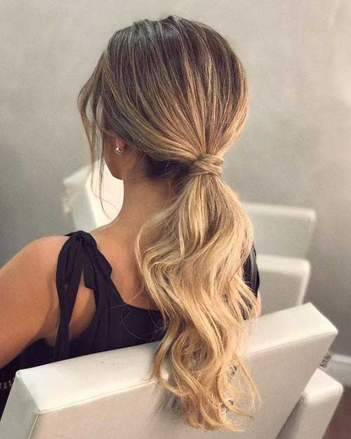 Easy Ponytail Hairstyles-14