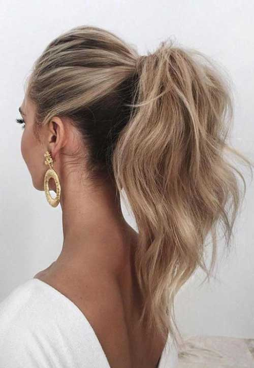 Easy Ponytail Hairstyles-15