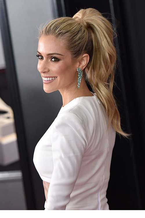 Easy Ponytail Hairstyles-17