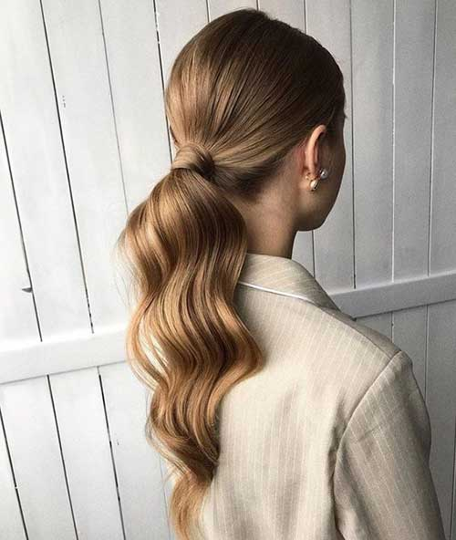 Easy Ponytail Hairstyles-18