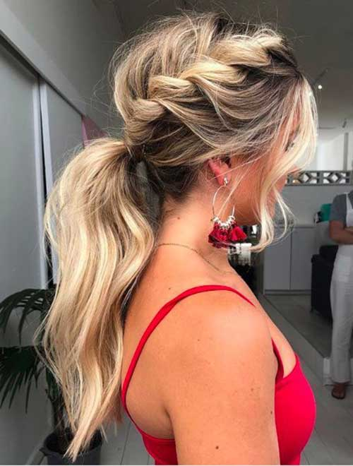Easy Ponytail Hairstyles-19