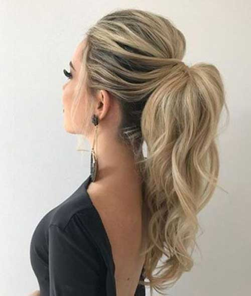 Easy Ponytail Hairstyles-6