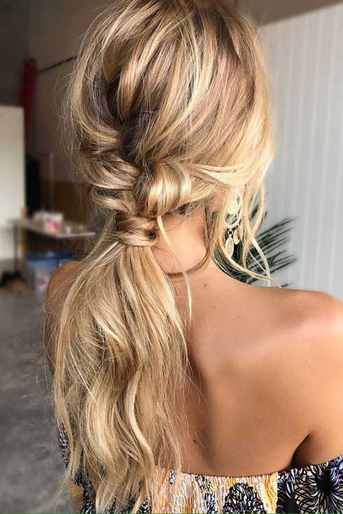 Easy Ponytail Hairstyles-7