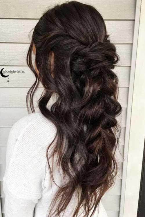 Brideasmaid Curled Hairstyles-8