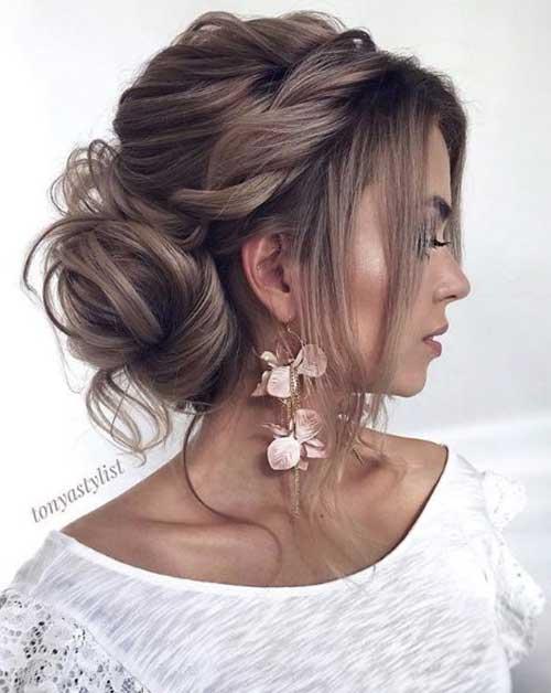 Brideasmaid Low Bun Hairstyles-9