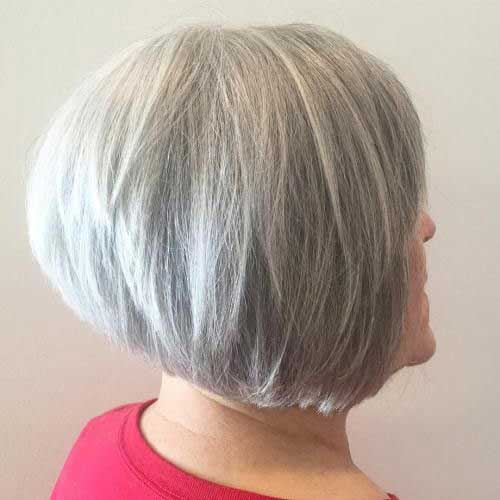 Bob Haircuts for Older Women-12
