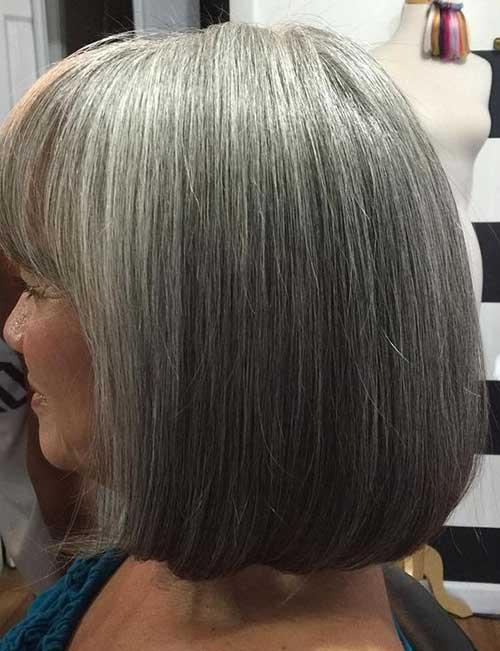 Bob Haircuts for Older Women-14