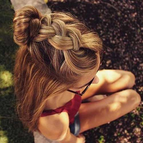 Cute Hairstyles for Girls-18