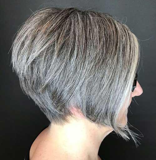 Bob Haircuts for Older Women-7
