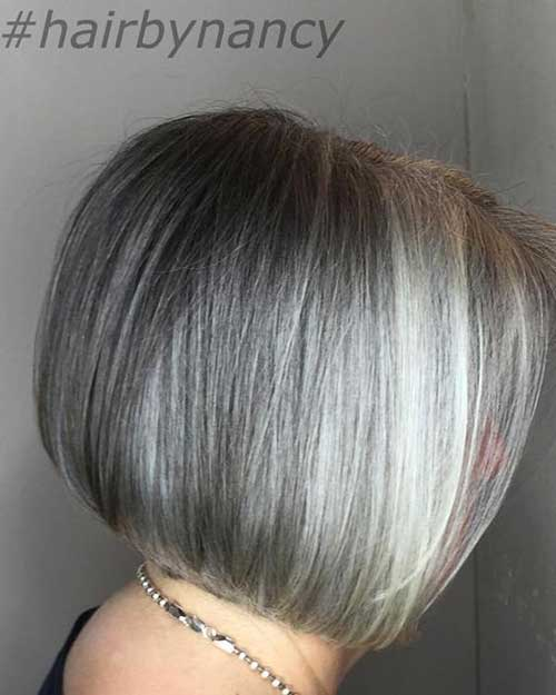 Bob Haircuts for Older Women-9