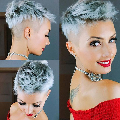 25 Pixie Punk Hairstyles For A Totally Different Look Pixie Cut